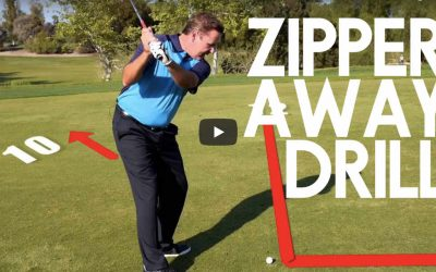 Zipper-Away DRILL: Eliminate Early Extension & Steep Downswings with this Single Drill