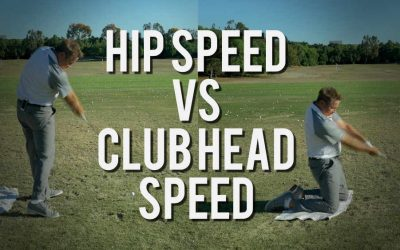 Faster Hips do NOT Create Club Head Speed