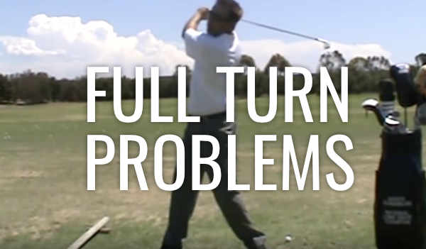 Making a Full Turn in the Backswing
