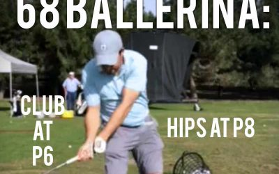 The 68 Ballerina Move: Scourge of the Modern Golfer