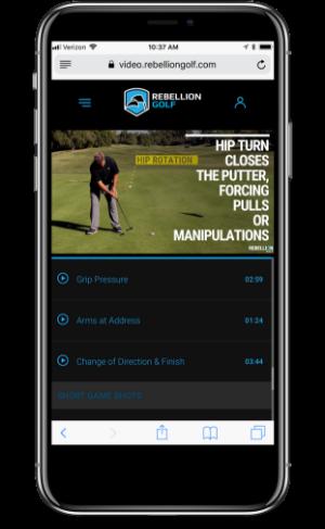Golf Instructional Videos Rebellion Golf With Monte Scheinblum